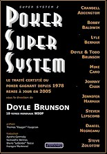 Poker Super System de Doyle Brunson
